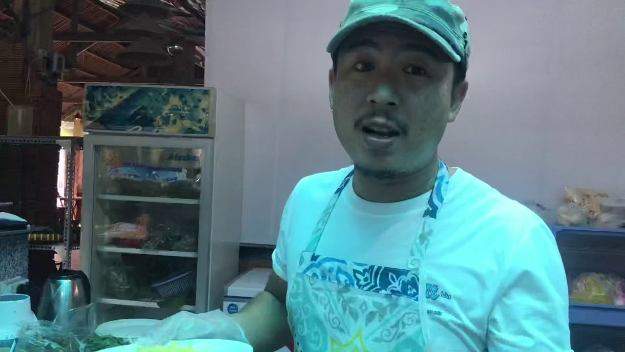 Cá Biển TV - Làm tôm sốt thái tại Giàu Chuyên Hàu