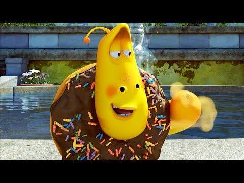 LARVA - CHOCOLATE DONUT | Cartoon Movie | Cartoons For Children | Larva Cartoon | LARVA Official