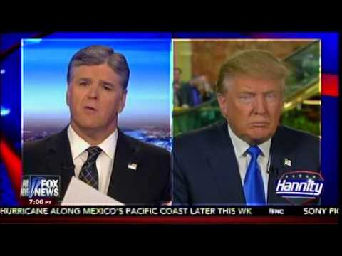 Trump Vs Bush - 9-11 Attacks - Donald Trump On Hannity