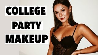 COLLEGE PARTY/GOING OUT MAKEUP LOOK | Fall 2018
