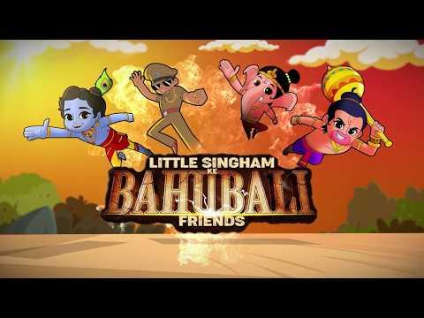 Music Video   Little Singham Ke Bahubali Friends   Wed, 25th Dec 12 PM & 6 PM   Discovery Kids