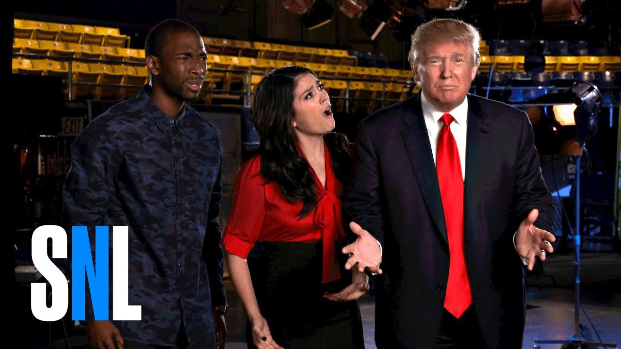 Host Donald Trump Shops Around SNL For A Running Mate ...