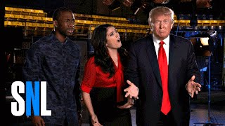 Host Donald Trump Shops Around SNL For A Running Mate