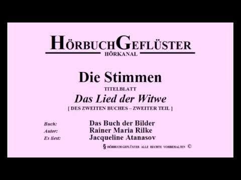 Die Stimmen - Das Lied der Witwe [R. M. Rilke]
