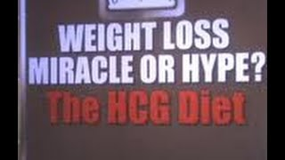 HCG for weight loss, warning!!!