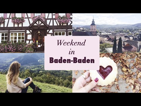 TRAVEL VLOG: Baden-Baden and the black forest