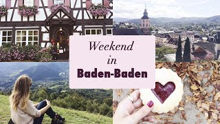 TRAVEL VLOG: Baden-Baden and the black forest(Last weekend we spent a great weekend with my family in the southwestern part of Germany, in the city of Baden-Baden. Enjoy! Thank you so much for watching ..., 2015-10-07T12:58:33.000Z)