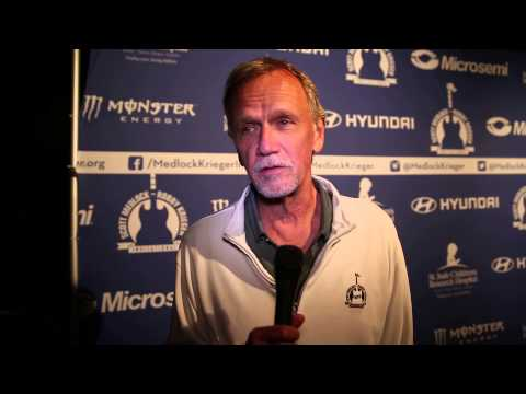 SAM HENNINGS.RED CARPET INTERVIEW BY ALEX KLUFT ON THE MEDLOCK KRIEGER 2015 RED CARPET