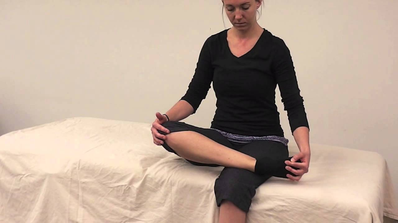 PNF Self Stretching for Tibialis Anterior - YouTube