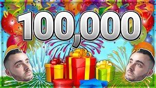 לייב 100 אלף רשומים !