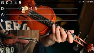 How to play G major Scale on Violin | Easy Music Tutorials
