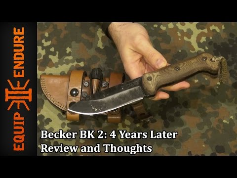 Becker BK 2, 4 Years Later, Review and Thoughts by Equip 2 Endure YouTube Cut