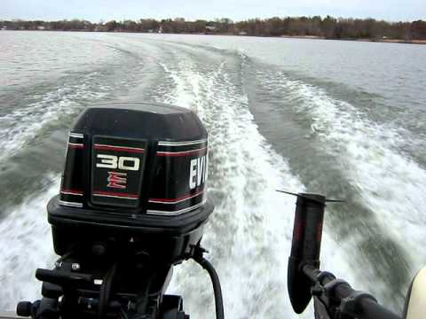 1994 evinrude 30hp outboard motor youtube for 25 hp outboard motor reviews