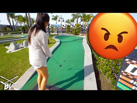 THE MOST FRUSTRATING MINI GOLF HOLE EVER !