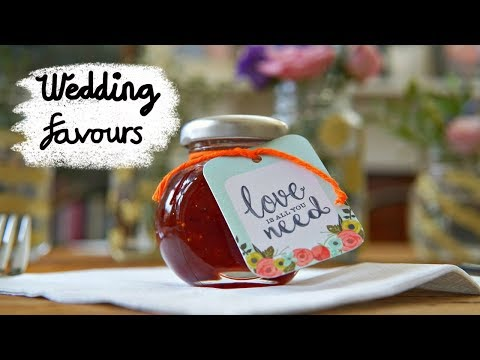 4 Easy and Affordable DIY Wedding favours 2018 - DIY with Hobbycraft #AD