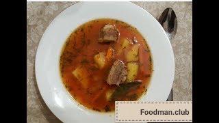 Мясной суп с овощами(, 2017-11-29T14:13:24.000Z)