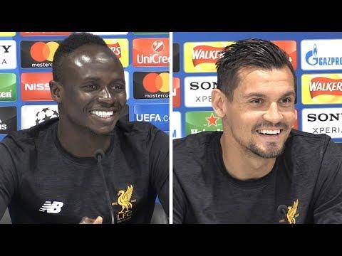 Sadio Mane & Dejan Lovren Pre-Match Press Conference - Real Madrid v Liverpool - Champions League
