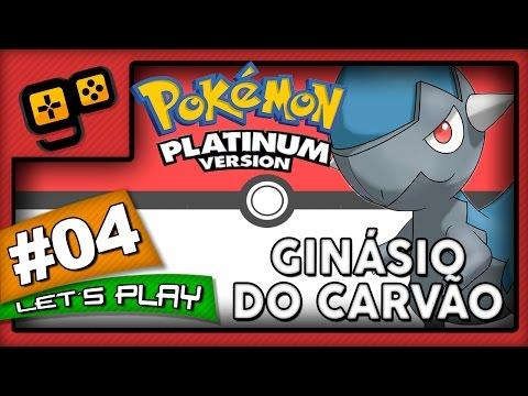 Let's Play: Pokémon Platinum - Parte 4 - Ginásio do Carvão