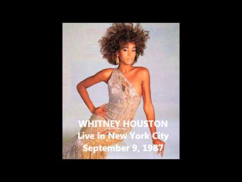 Whitney Houston Saving All My Love For You - Live In New York 1987