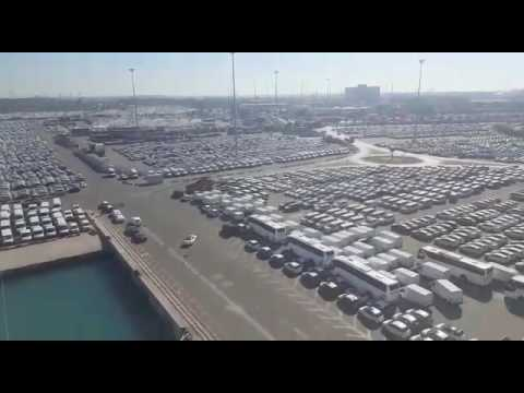 שטחי אחסנה בנמל אשדוד. Storage areas Ashdod port