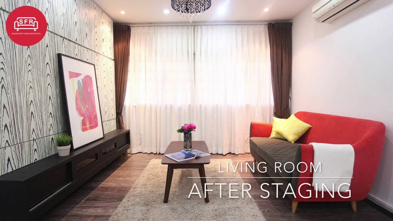 Home Staging Project   27 Marine Crescent   Singapore Furniture Rental
