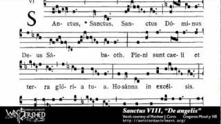 Sanctus VIII from Mass VIII, Gregorian Chant