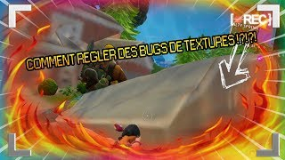 How NOT TO KNOW OF TEXTURE BUG ON FORTNITE !?!?!?!