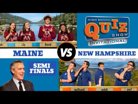 High School Quiz Show - Invitational: Maine vs. New Hampshir