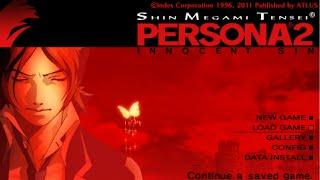 Shin Megami Tensei: Persona 2 Innocent Sin Opening (PSP) (HD Quality)