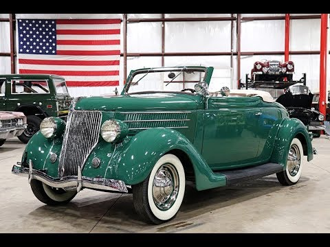 1936 Ford Cabriolet Green