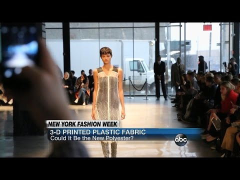 3-D Printed Material Could Revolutionize Fashion Industry