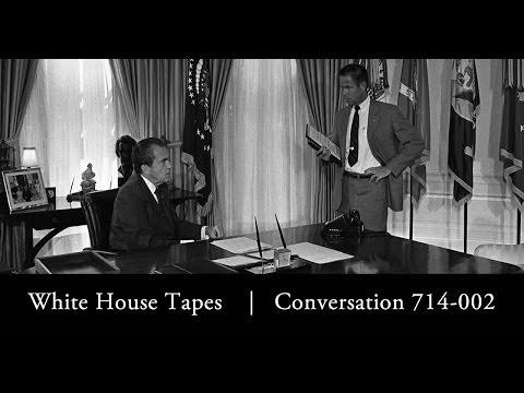 """Smoking Gun"": Richard Nixon And Bob Haldeman Discuss The Watergate Break-in, June 23, 1972"