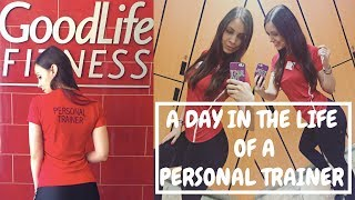 A DAY IN THE LIFE OF A PERSONAL TRAINER