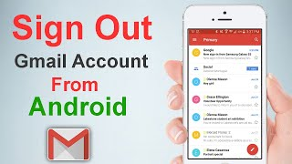 how to sign oขt from gmail on android phone