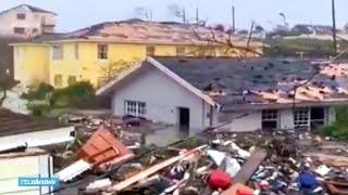 Orkaan Dorian laat enorm spoor van vernieling achter op de Bahama's