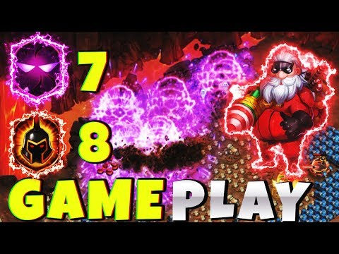 12/12 SANTA | 8 WG | 7 Unholy Pact | GAMEPLAY | CASTLE CLASH