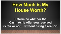 How Much is My House Worth? Find Your Property Value without a Realtor!