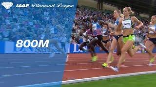 Caster Semenya sprints down the field in the Women