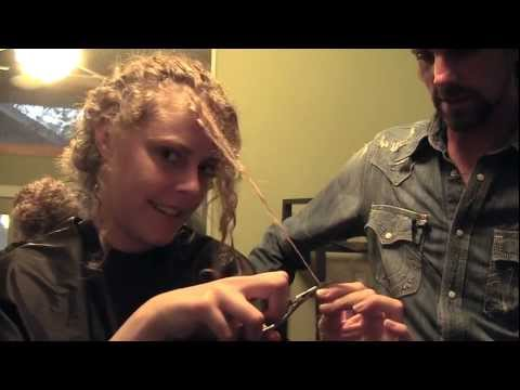 How To Cut Your Own Hair & Trim Split Ends, Curls, Bangs, Layers | Curt Darling Austin