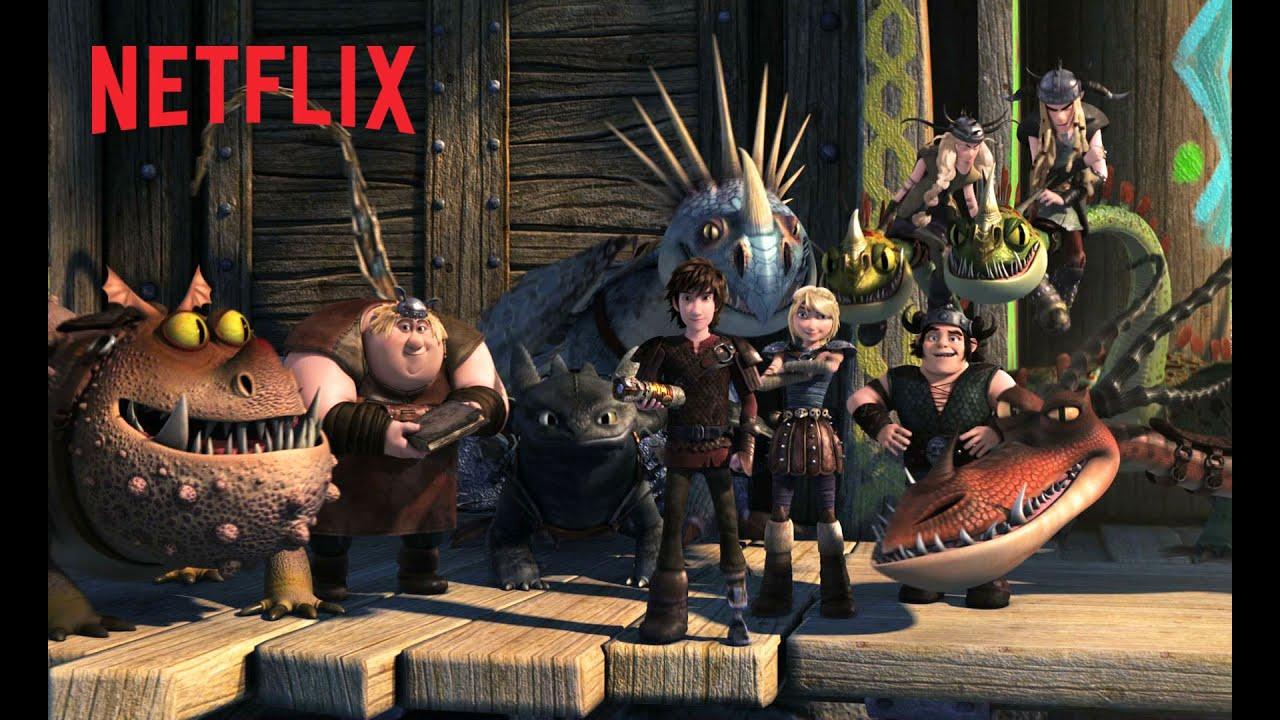 DreamWorks Dragons: Auf zu neuen Ufern – Teaser – Netflix