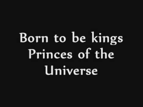 Princes of the Universe Queen with lyrics