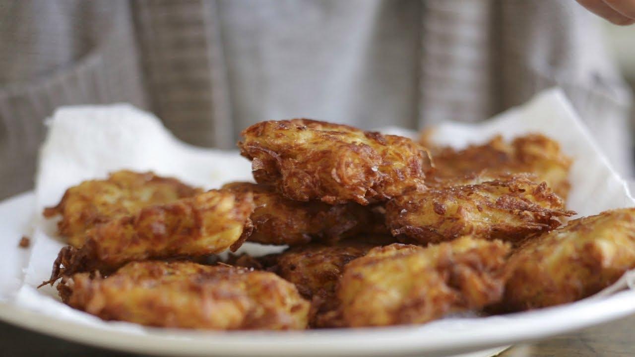 how to cook potato latkes