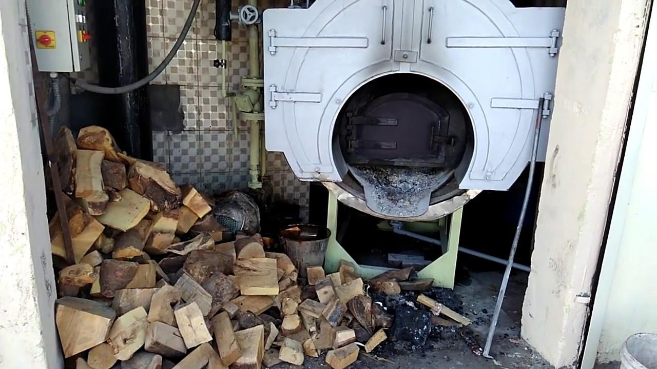 Wood Fired Sib Steam Boiler Youtube