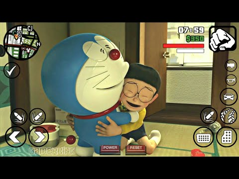 [20MB] GTA SA Doraemon MOD With Nobita House For Android