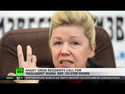 Angry Omsk residents call for Mizulina to step down