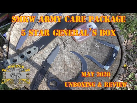 SMKW army care package - 5 star general's box - August 2020 Unboxing & Review from YouTube · Duration:  34 minutes 48 seconds