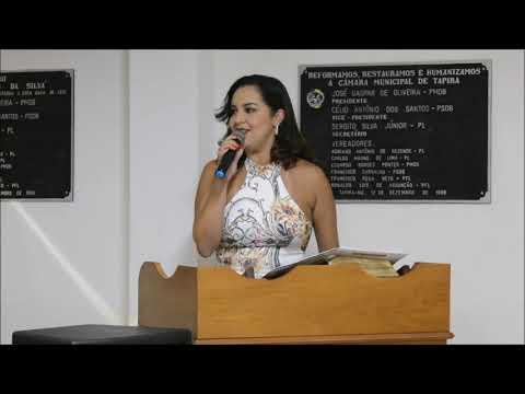 Reunião Câmara Municipal de Tapira/MG 26/12/2019.