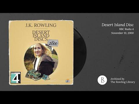 J.K. Rowling on Desert Island Discs - BBC Radio 4 (November 10th, 2000)