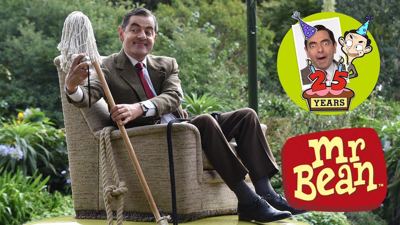 25 anni di Mr. Bean Anniversario a Buckingham Palace - Rowan Atkinson