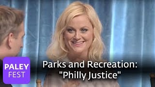 """Parks and Recreation - Amy Poehler Explains """"Philly Justice"""""""